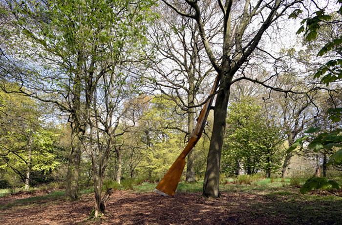 Cornelia Parker - Landscape with Gun and Tree, 2010