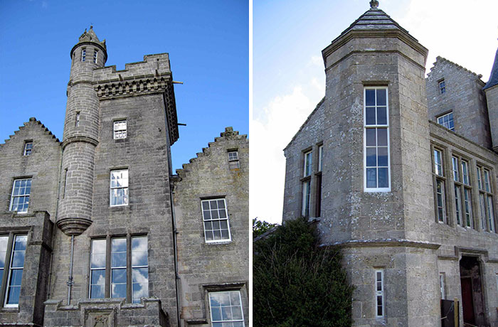 Balfour Castle, Shapinsay, Orkney islands