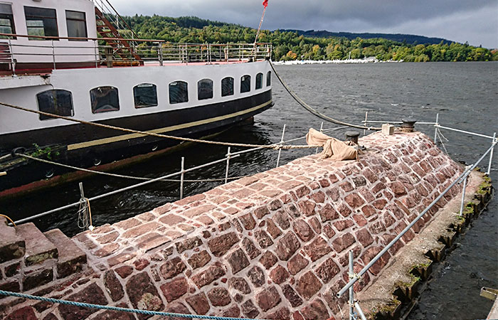 Maid of the Loch, Balloch - Pier Knuckle Works